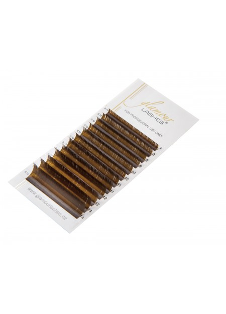 BROWN lashes mix lengths