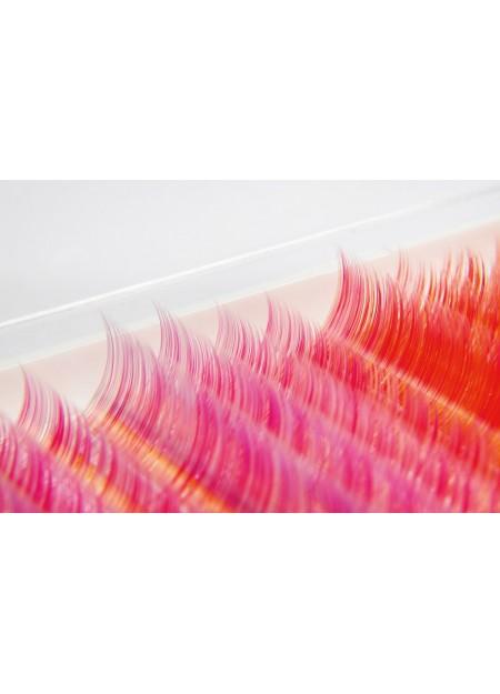 Řasy RAINBOW pink